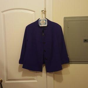 Women's Purple Jacket Size 18W